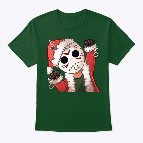 Holiday Dancing Jason Deep Forest T-Shirt Front