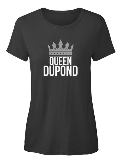 Dupond   Simply Queen Dupond Black T-Shirt Front