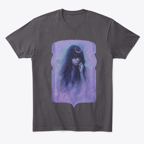 Nemoralia Heathered Charcoal  T-Shirt Front