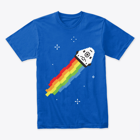 Nyan Dragon 🚀 #Sfsf Royal T-Shirt Front