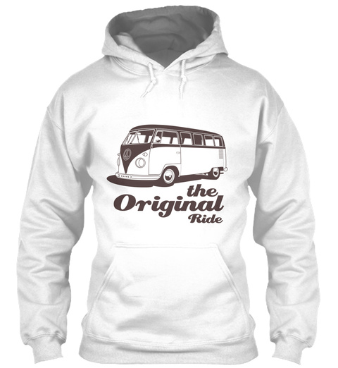 The Original Ride White T-Shirt Front