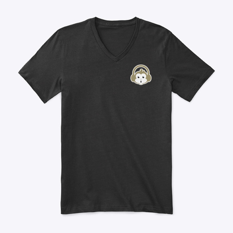 Gold Collection Black T-Shirt Front