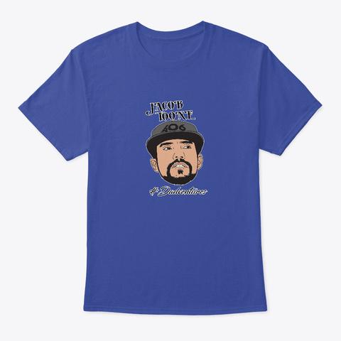 #Dadventures  Deep Royal T-Shirt Front