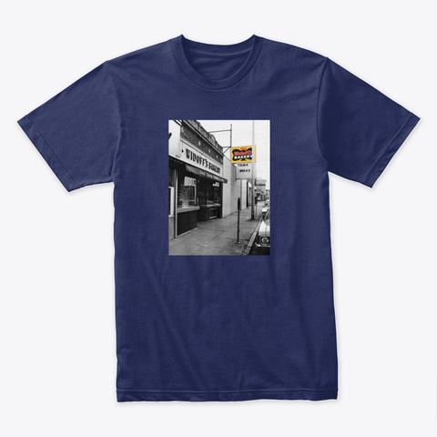 N/A Midnight Navy T-Shirt Front