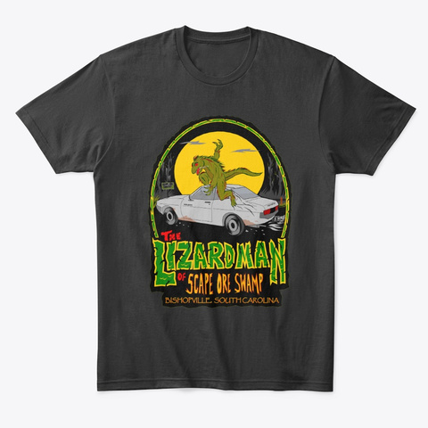 The LIZARD MAN of SCAPE ORE SWAMP Unisex Tshirt