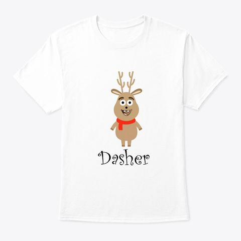 Christmas Festival Santa Gift For White T-Shirt Front