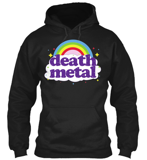 Death Metal Black Sweatshirt Front