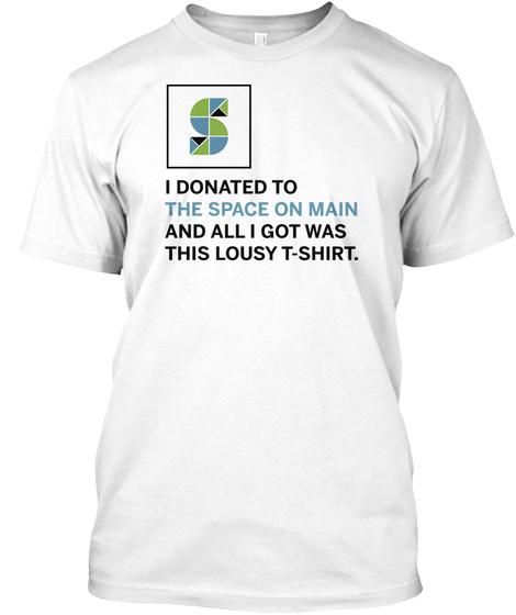 Som Lousy T Shirt White White T-Shirt Front