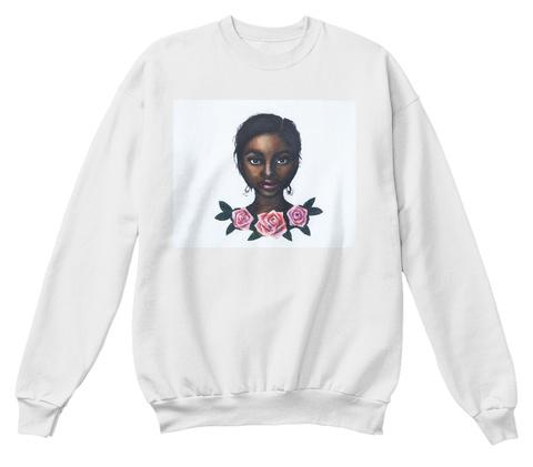 Grace White  T-Shirt Front