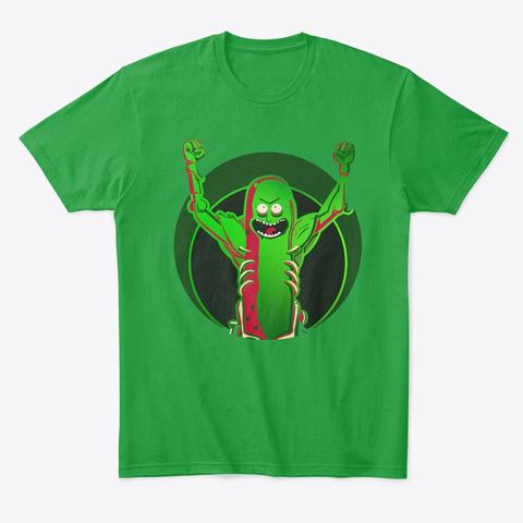 I'm Pickle Riiiiiiick!| Nerd Rage Kelly Green T-Shirt Front