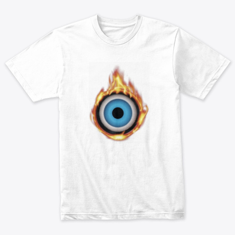 Oculus Heat   White Heather White T-Shirt Front