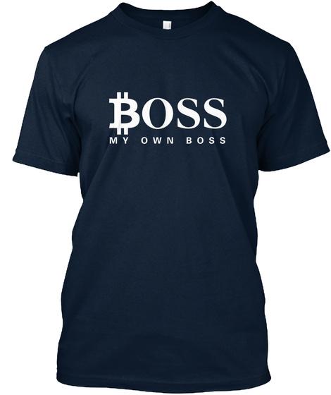 Boss My Own Boss New Navy T-Shirt Front