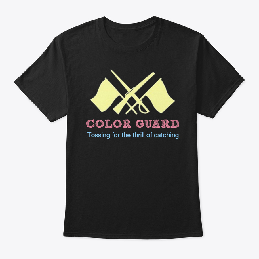 [15+] Color Guard-Tossing for the thrill Unisex Tshirt