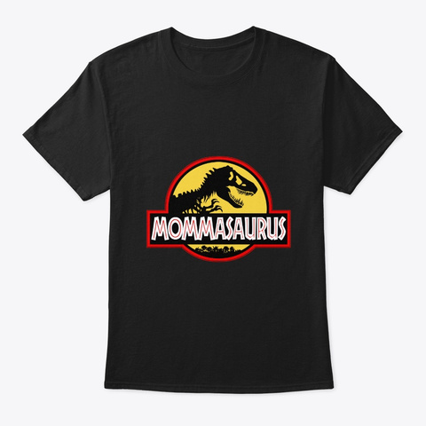 Mom's Day Comic Mug T Shirt Gift Black T-Shirt Front