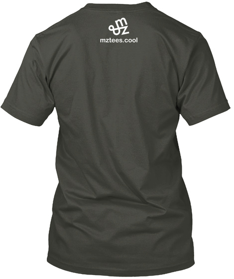 Just A Trim Smoke Gray T-Shirt Back