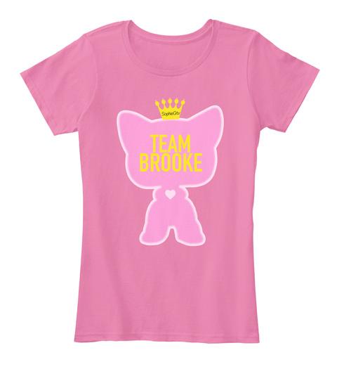 Team Brooke True Pink T-Shirt Front