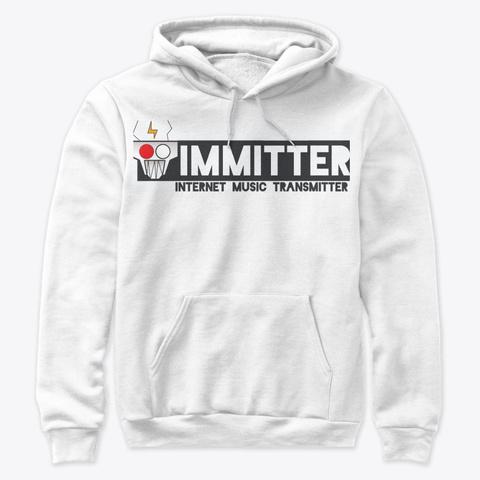 Immitter Banner White T-Shirt Front