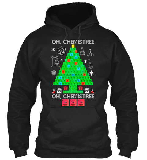 Oh, Chemistree Oh, Chemistree Black T-Shirt Front