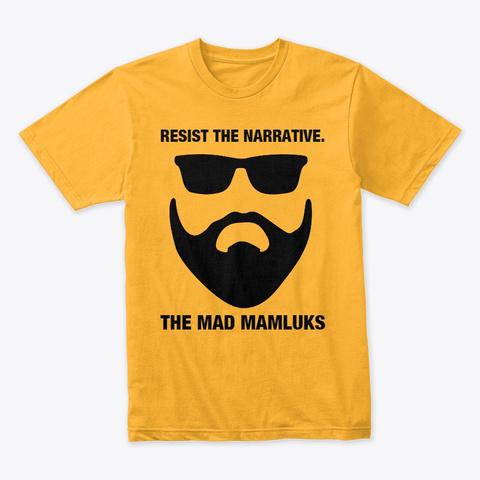 Tmm Shirt Gold T-Shirt Front