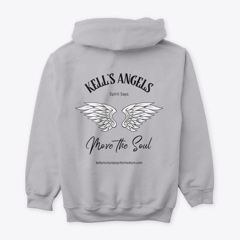 Kell's Angels Move The Soul 3 Sport Grey T-Shirt Back