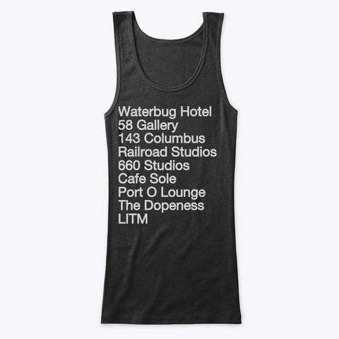 Hz Black T-Shirt Front