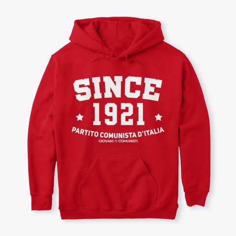 Since 1921 Red T-Shirt Front
