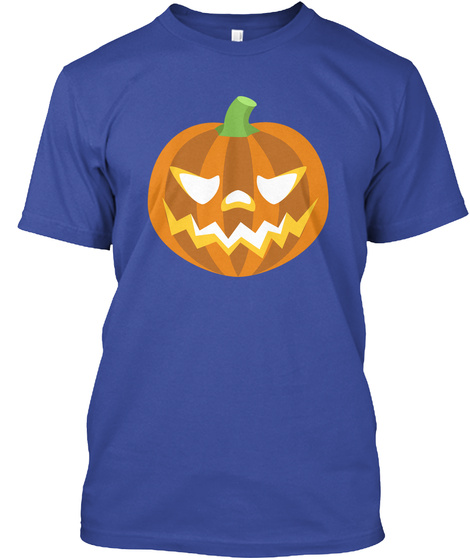 Bcfgu Official Halloween Apparel Deep Royal T-Shirt Front