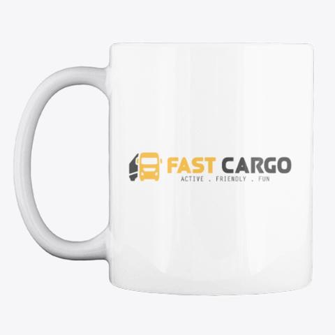 Fast Cargo Vtc   Mug [White] White T-Shirt Front