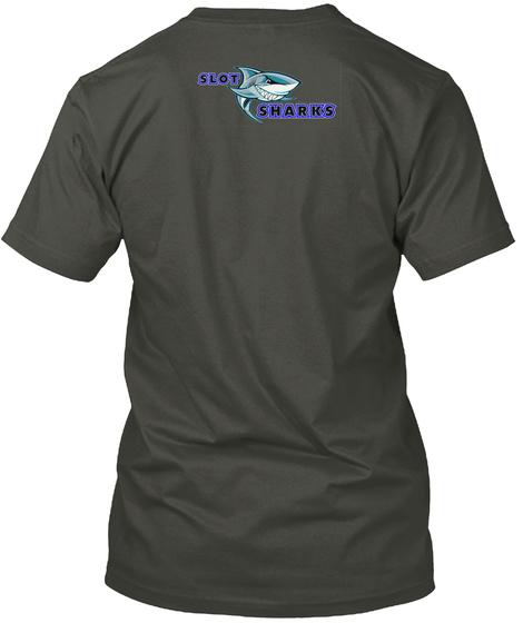 Mama Shark Swag Smoke Gray T-Shirt Back