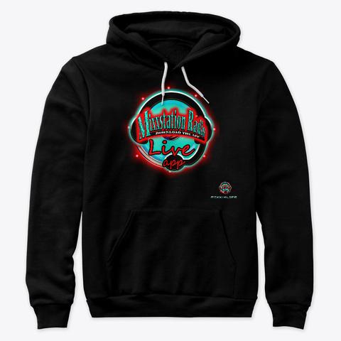 Mixx/4 Life Design Black T-Shirt Front
