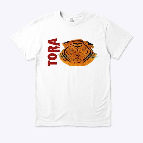 Tora View White T-Shirt Front