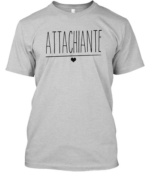Attachiante Light Steel T-Shirt Front