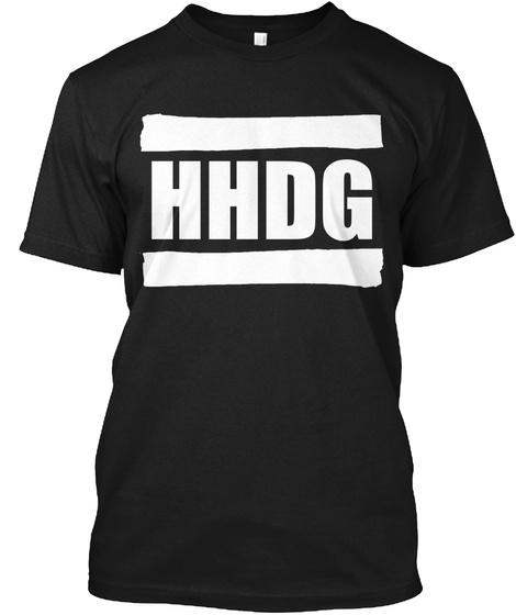 Hhdg Black T-Shirt Front