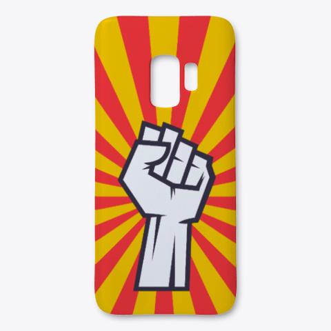 Revolution Phone Case For Samsung White T-Shirt Front