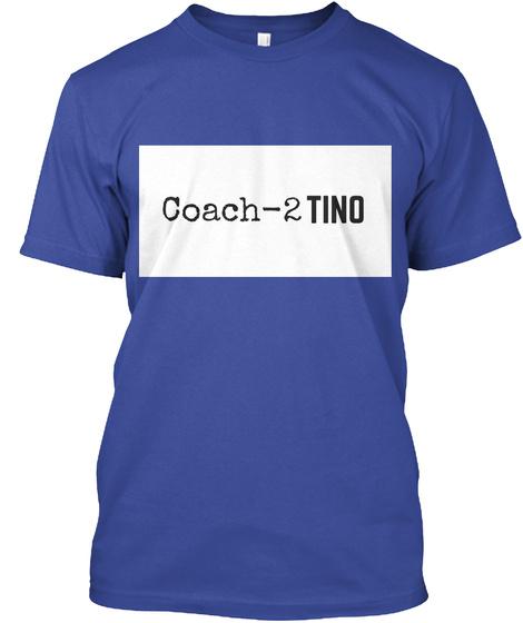 Coach   2 Tino Deep Royal T-Shirt Front