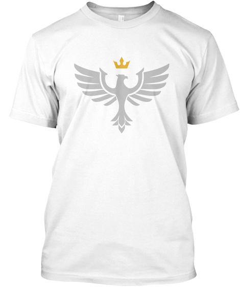 Lumina Crest White T-Shirt Front