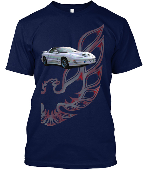 Trans Am 4th Gen Half Wing Series #1 Navy T-Shirt Front