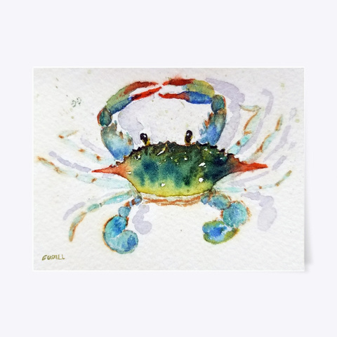 Crabby Today Standard T-Shirt Front