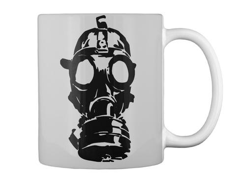 Mug   Unknown Range Zombie World Lt Grey Mug Back