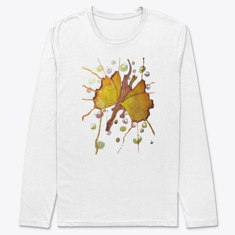 Butterfly Dragon White T-Shirt Front