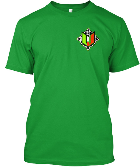 Wj Celtic Kelly Green T-Shirt Front