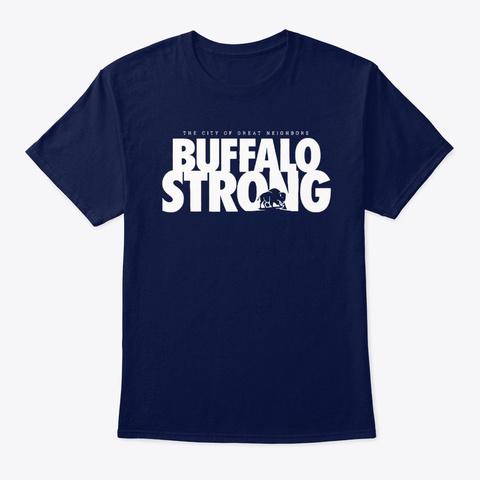 buffalo strong t shirts