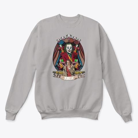Joker   Mad History Sweatshirt Light Steel  T-Shirt Front