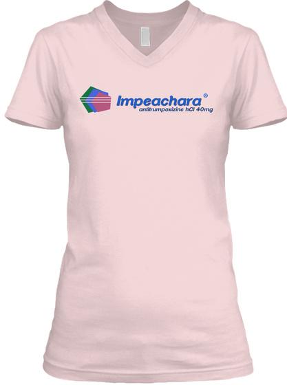 Impeachara Antitrumpoxizine Hcl 40 Mg Pink T-Shirt Front