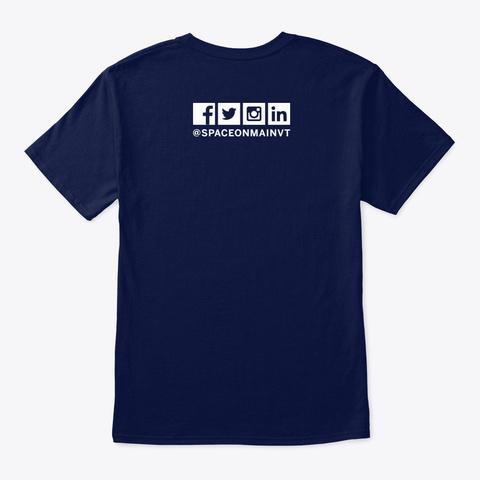Som Sh*T T Shirt Navy T-Shirt Back
