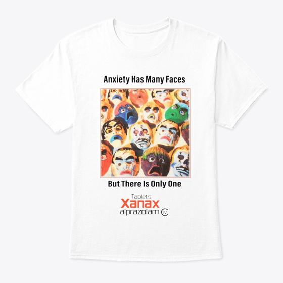 Xanax Promotional T Shirt