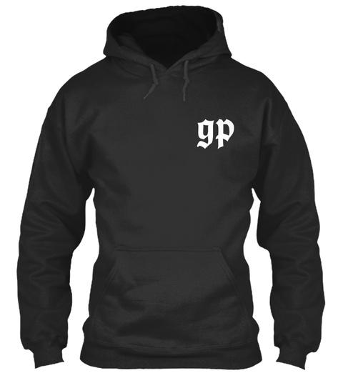 Gp Jet Black T-Shirt Front