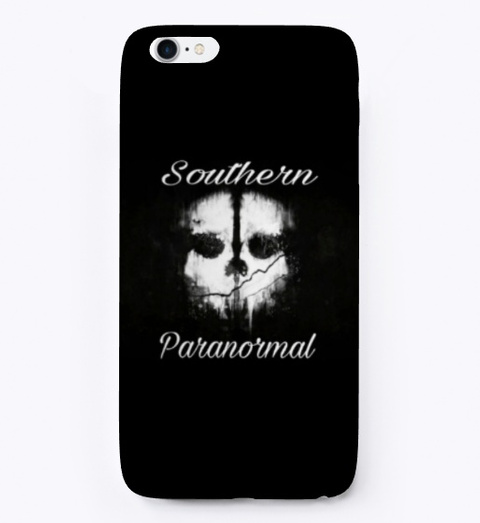 Southern Paranormal Black T-Shirt Front