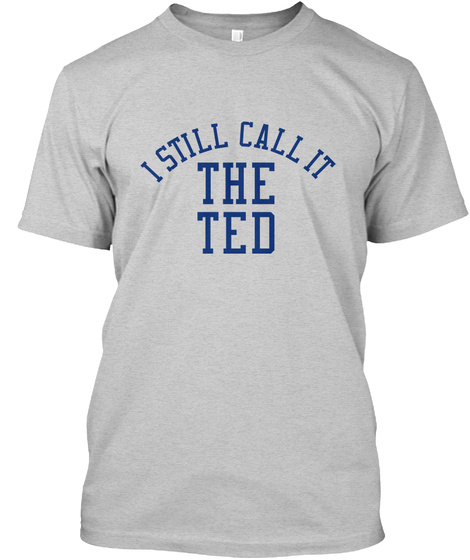 Naming Wrongs: Ted Arena (Grey) Light Steel T-Shirt Front