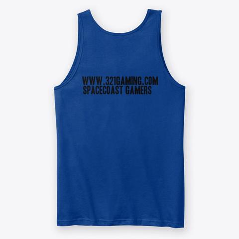 Odin The Otter Tank True Royal T-Shirt Back